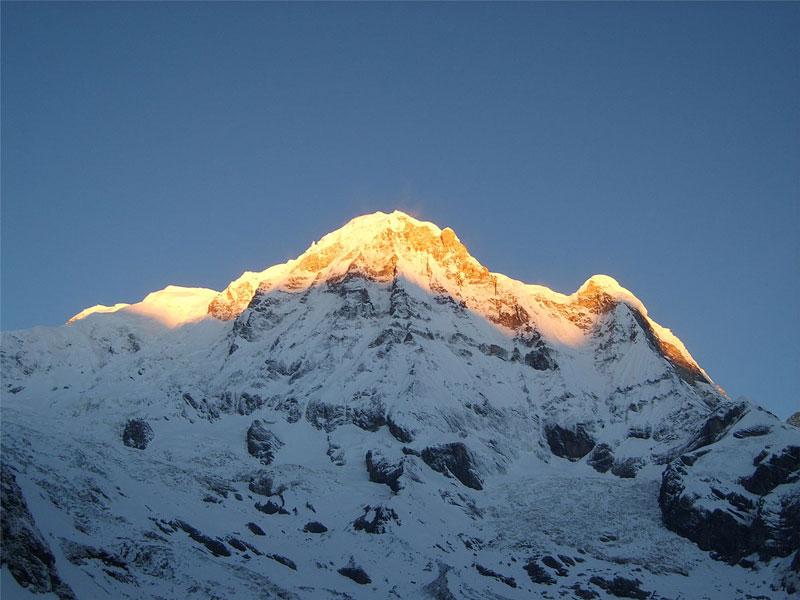 10. Núi Annapurna I (Nepal). Chiều cao: 8.091m.