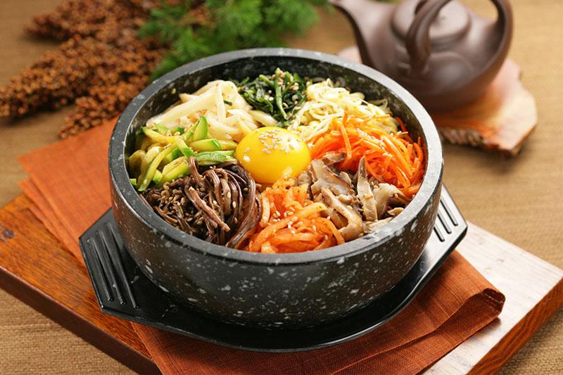 Cơm trộn Hàn Quốc. Ảnh minh họa.