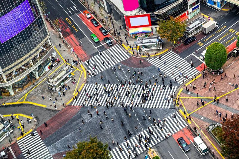 6. Phường Shibuya. Đây là phường đặc biệt ở Tokyo, Nhật Bản. Tên gọi