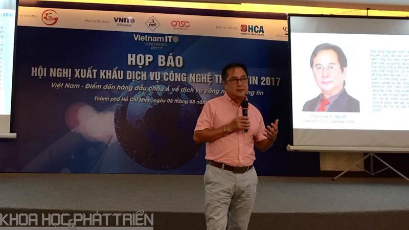 Ông Hùng Q. Nguyễn - Tổng Giám đốc Tập đoàn LogiGear Corp