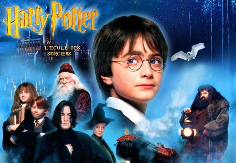 10. Harry Potter và Hòn đá Phù thủy. Tổng doanh thu: 66,1 triệu bảng.