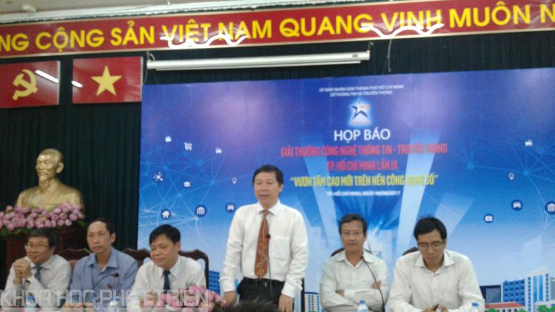 Ông Dương Anh Đức - Giám đốc Sở Thông tin và Truyền thông TPHCM