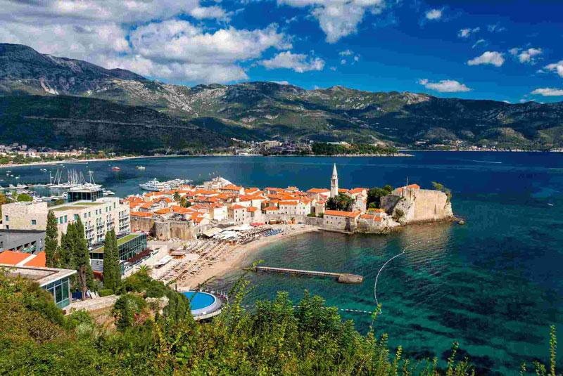 2. Cộng hòa Montenegro. Chiều cao trung bình: 1,832m.