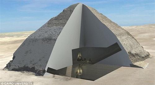 Tiết lộ bí ẩn về phần lõi ma quái của các Kim tự tháp Ai Cập - 1