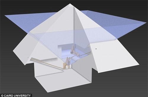 Tiết lộ bí ẩn về phần lõi ma quái của các Kim tự tháp Ai Cập - 2