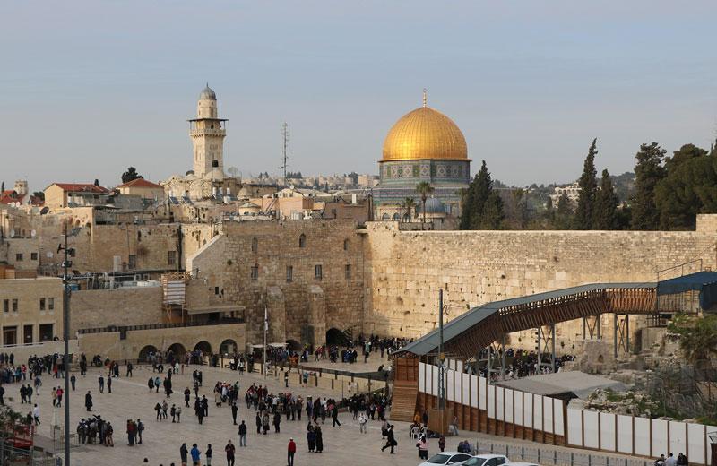 Một góc thành phố Jerusalem, Israel. Ảnh: Đức Anh