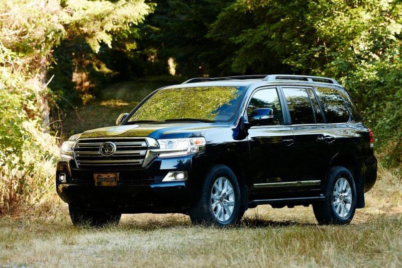 10. Toyota Land Cruiser.