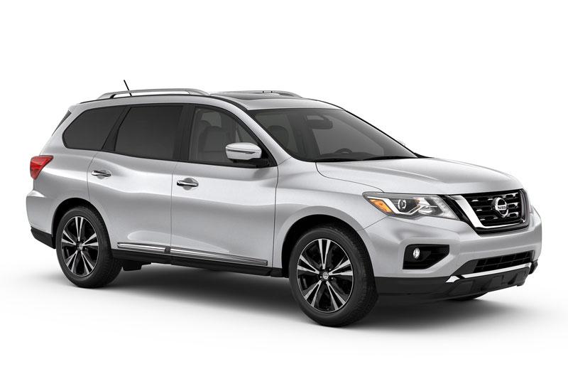 3. Nissan Pathfinder.