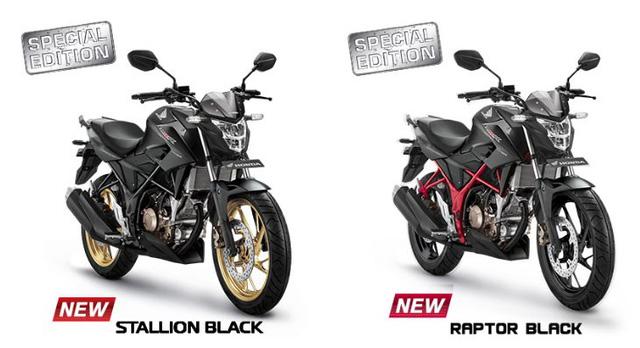 Xe côn tay Honda CB150R StreetFire có thêm 4 màu sơn mới, giá từ 44 triệu Đồng.