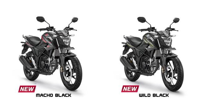 2 màu sơn mới của Honda CB150R StreetFire phiên bản đặc biệt.