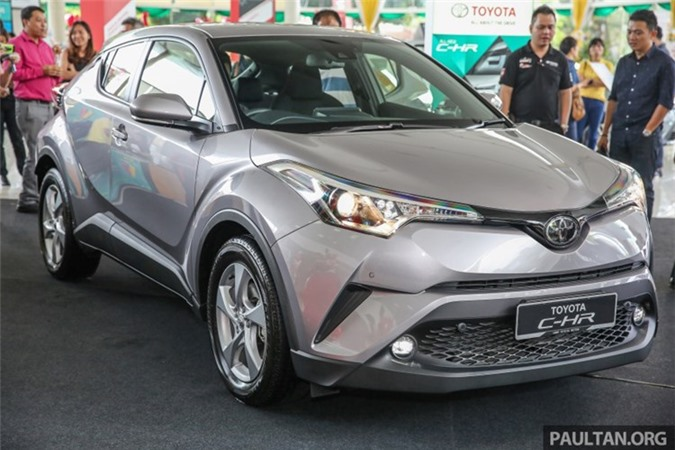 Toyota ra mắt xe ôtô CH-R