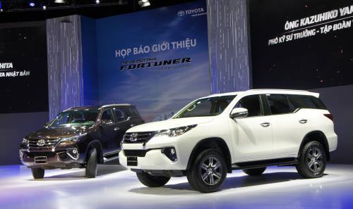 Doanh số bán xe của Toyota Việt Nam tiếp tục giảm. Doanh số bán các mẫu xe của Toyota trong tháng 7/2017 vẫn giảm 17% so với cùng kỳ năm ngoái. (CHI TIẾT)