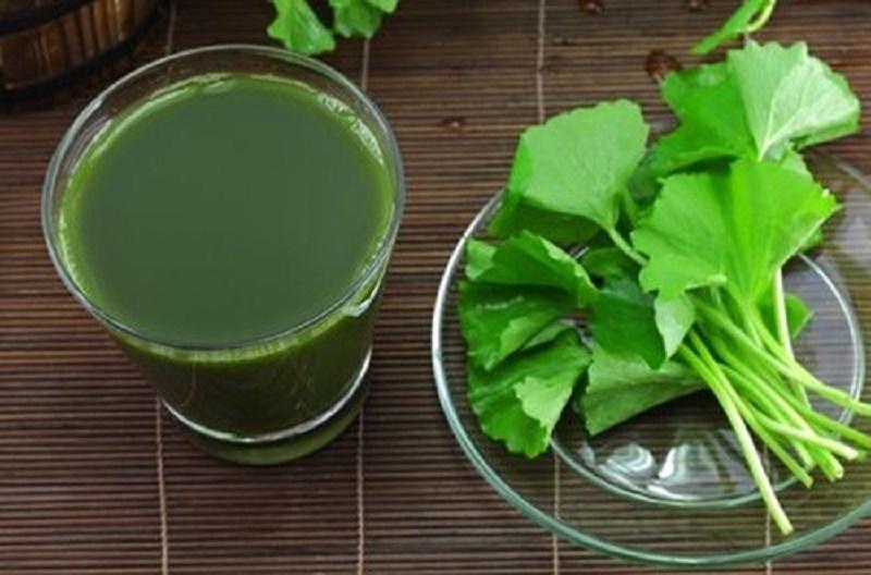 Nước rau má có tác dụng thanh nhiệt, giải độc rất tốt.