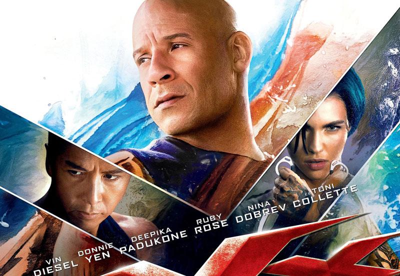 10. XXX: Return of Xander Cage (tạm dịch: XXX: Sự trở lại của Xander Cage). Tổng doanh thu: 346 triệu USD.