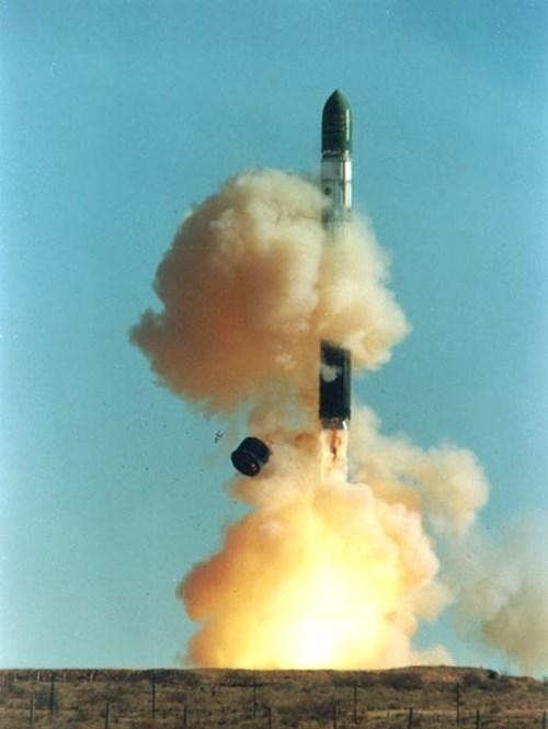 Tên lửa R-36 khổng lồ của Liên Xô cũ. Ảnh: Wiki.