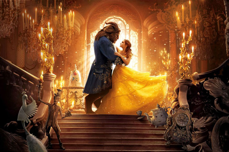 1. Beauty and the Beast (tạm dịch: Người đẹp và Quái vật). Tổng doanh thu: 1,261 tỷ USD.