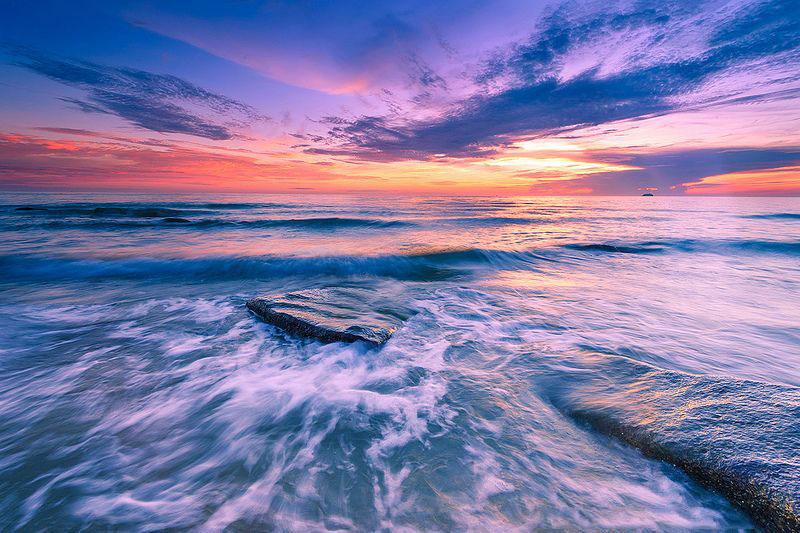 Bãi biển Thiên Cầm thuộc địa phận huyện Cẩm Xuyên, tỉnh Hà Tĩnh. Ảnh: Tu_geo.