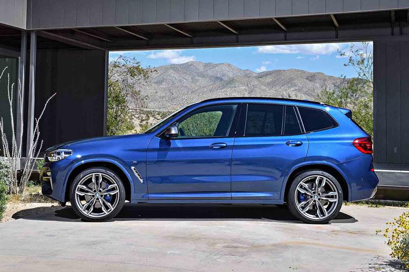 2. BMW X3 2018.