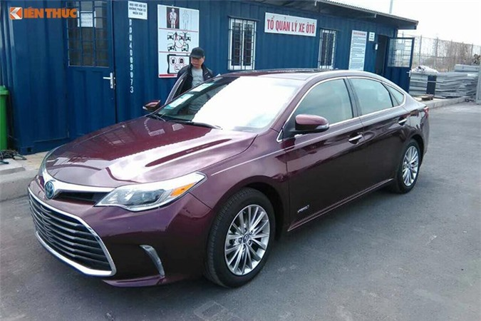 Can canh Toyota Avalon Limited gia 2,56 ty tai Viet Nam-Hinh-11