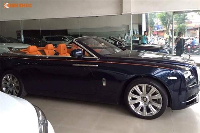 Chi tiet xe sang Rolls-Royce Dawn gia 40 ty tai Sai Gon-Hinh-2