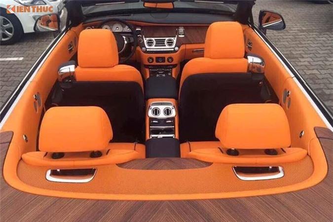 Chi tiet xe sang Rolls-Royce Dawn gia 40 ty tai Sai Gon-Hinh-7