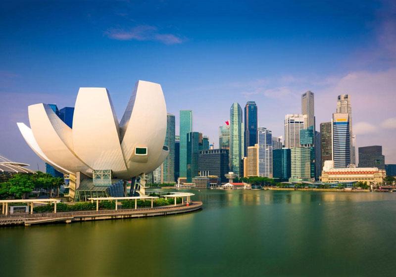 11. Singapore. Tổng diện tích: 719,1 km2.