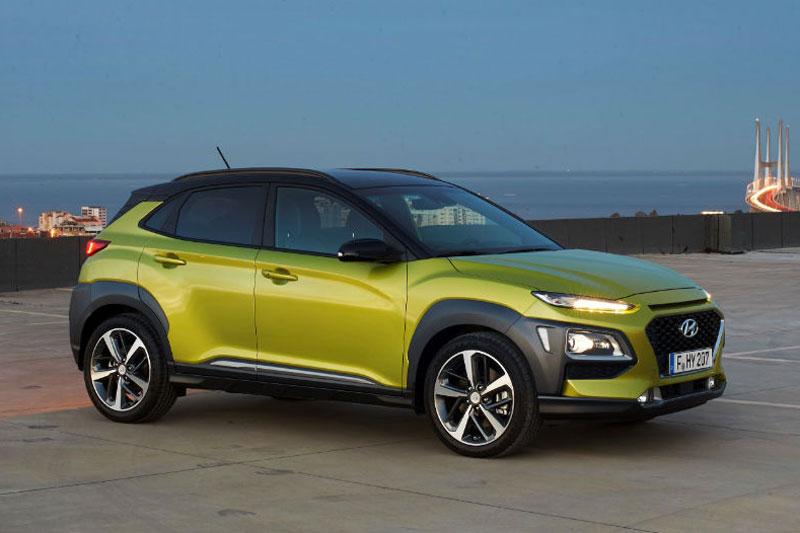 10. Hyundai Kona (doanh số: 4.230 chiếc).