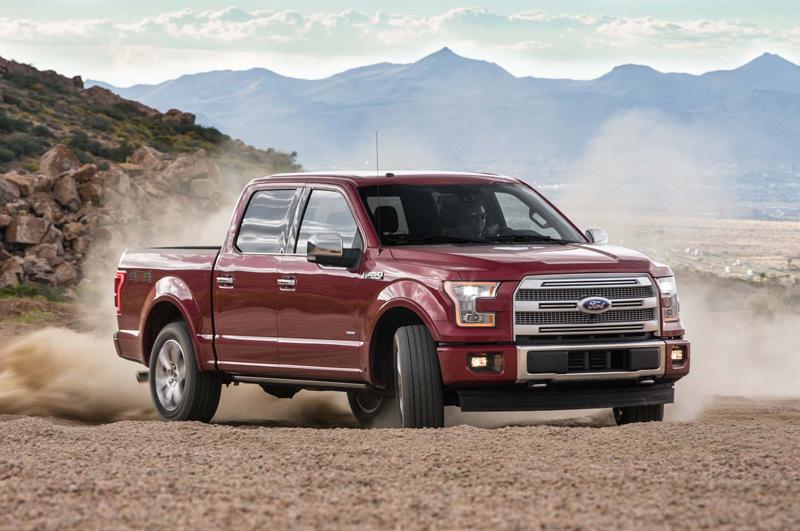 2. Ford F-Series (doanh số: 519583 chiếc).