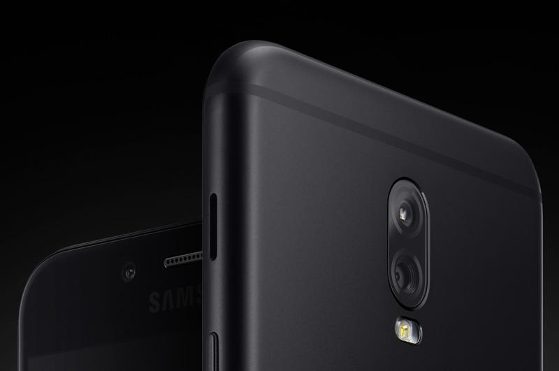 Galaxy C8 sở hữu camera kép ở mặt lưng.