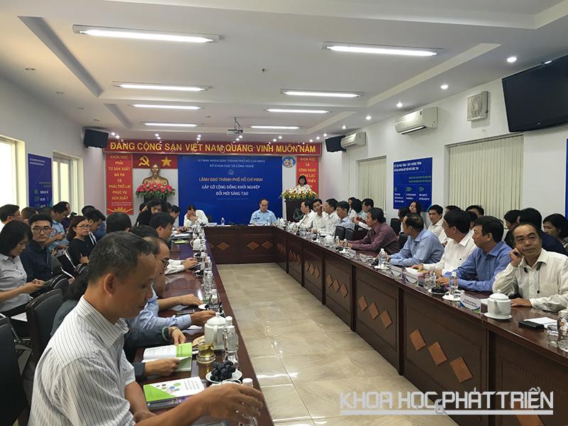 Toàn cảnh sự kiện Lãnh đạo TPHCM gặp gỡ cộng đồng khởi nghiệp