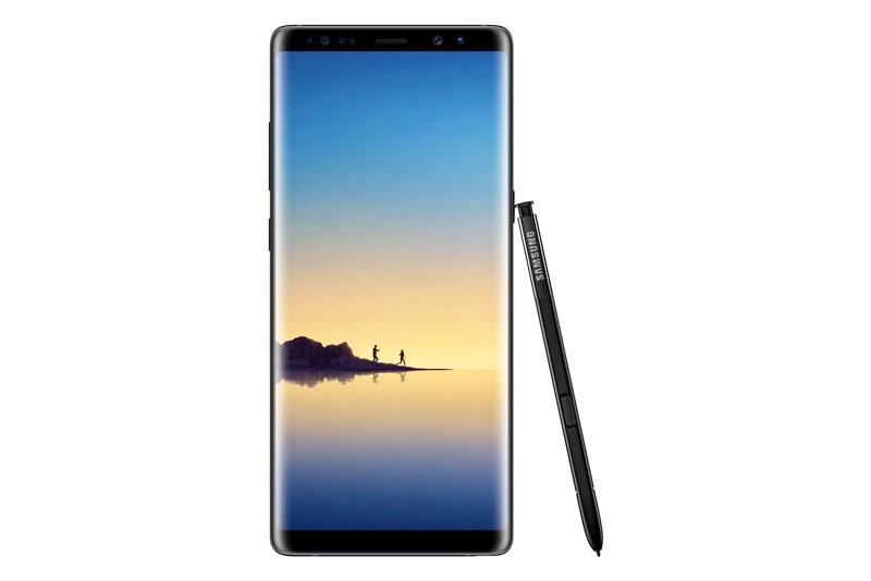 Galaxy Note 8 sở hữu màn hình vô cực với tấm nền Super AMOLED kích thước 6,5 inch, độ phân giải 2K (2.960x1.440 pixel), mật độ điểm ảnh 521 ppi. Màn hình này được chia theo tỷ lệ 18:9 cùng công nghệ Mobile HDR Premium, tính năng Always On.