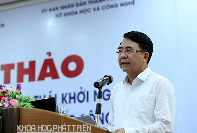 Ông Lê Khắc Nam – Phó Chủ tịch UBND TP Hải Phòng.