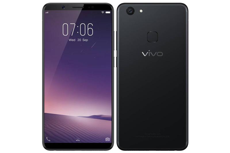 Vivo V7 Plus có 2 màu đen nhám và vàng nhưng ở thị trường Việt Nam, nó chỉ có màu đen nhám.