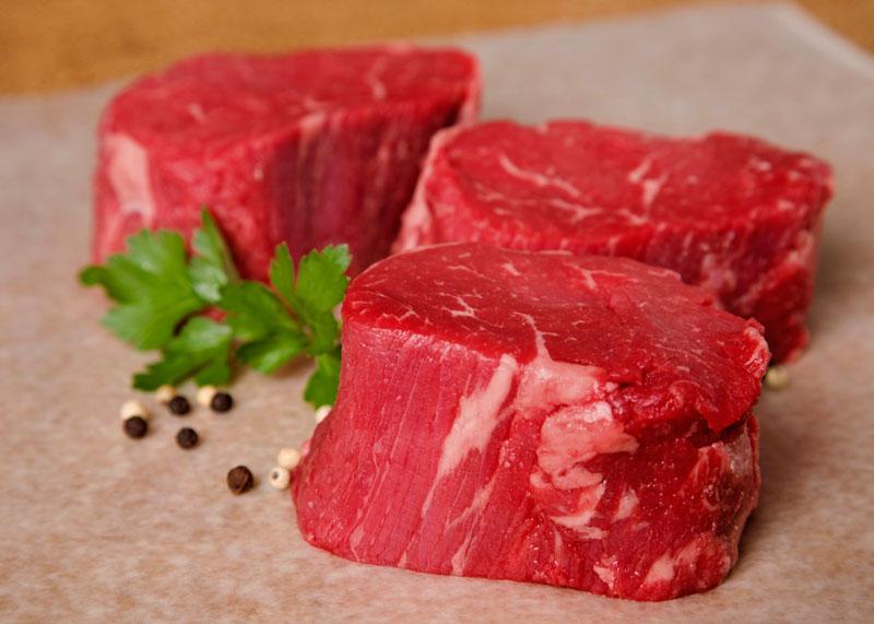 Thịt bò thăn. Ảnh minh họa.