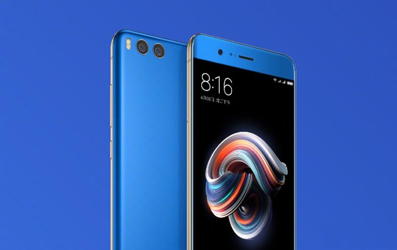 Xiaomi Mi Note 3.