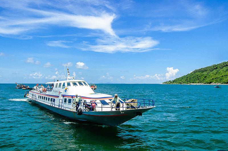 Quần đảo Nam Du nằm về phía Đông Nam đảo Phú Quốc trong vịnh Thái Lan, cách bờ biển Rạch Giá 65 hải lý. Ảnh: Thanh Liem.