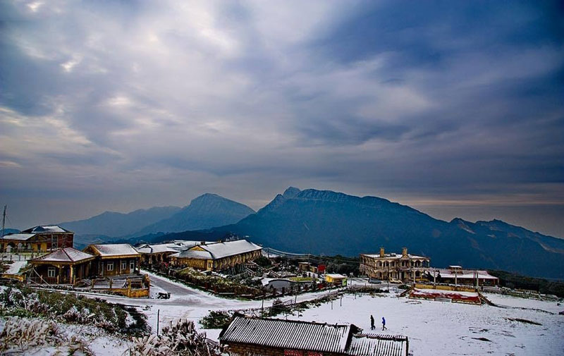 Vùng núi này là nơi cư trú của các dân tộc Dao, Nùng, Tày. Ảnh: Minh Dân.