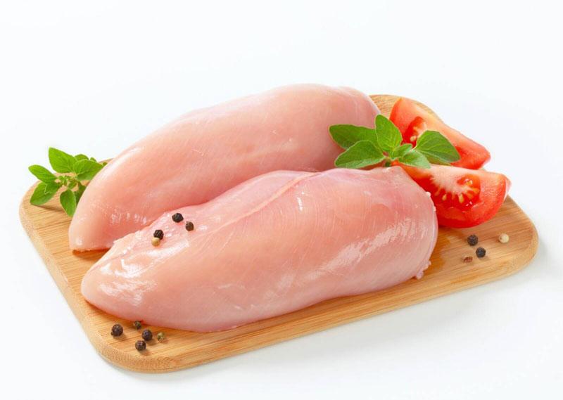 Thịt ức gà. Ảnh minh họa.