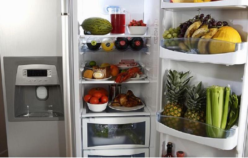 Tủ lạnh là nơi lý tưởng để bảo quản thực phẩm.