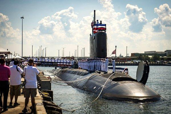 Tàu USS John Warner (SSN 785) sẽ được lắp đặt Xbox đầu tiên. Ảnh: Military.com