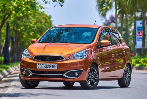 Xe cỡ nhỏ tại Việt Nam - nhập khẩu giảm giá, lắp ráp ung dung. Mitsubishi Mirage giảm 75 triệu để cạnh tranh với Hyundai i10 và Kia Morning, dù kích thước nhỉnh hơn các đối thủ. (CHI TIẾT)