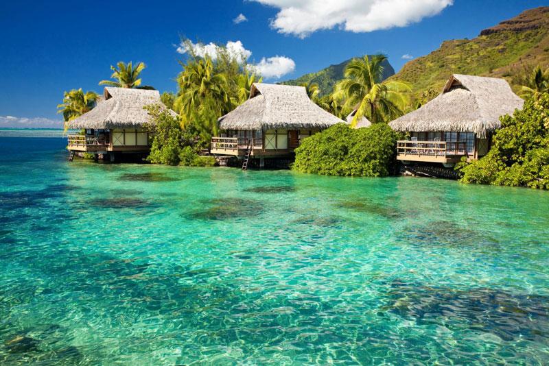 5. Phú Quốc (đảo Ngọc). Hòn đảo lớn nhất của Việt Nam, cũng là đảo lớn nhất trong quần thể 22 đảo tại đây, nằm trong vịnh Thái Lan. Đảo Phú Quốc cùng với các đảo khác tạo thành huyện đảo Phú Quốc trực thuộc tỉnh Kiên Giang. Năm 2006, Khu dự trữ sinh quyển ven biển và biển đảo Kiên Giang bao gồm cả huyện này được UNESCO công nhận là khu dự trữ sinh quyển thế giới.