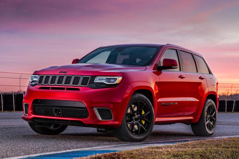 7. Jeep Grand Cherokee Trackhawk 2018.