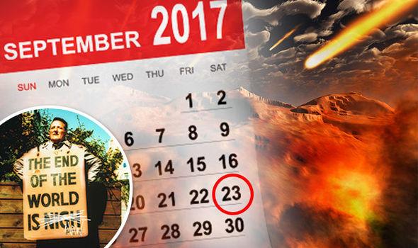 Ngày 23/9/2017 được một số nhà tiên tri tin là ngày tận thế của Trái Đất. Ảnh: Express.co.uk