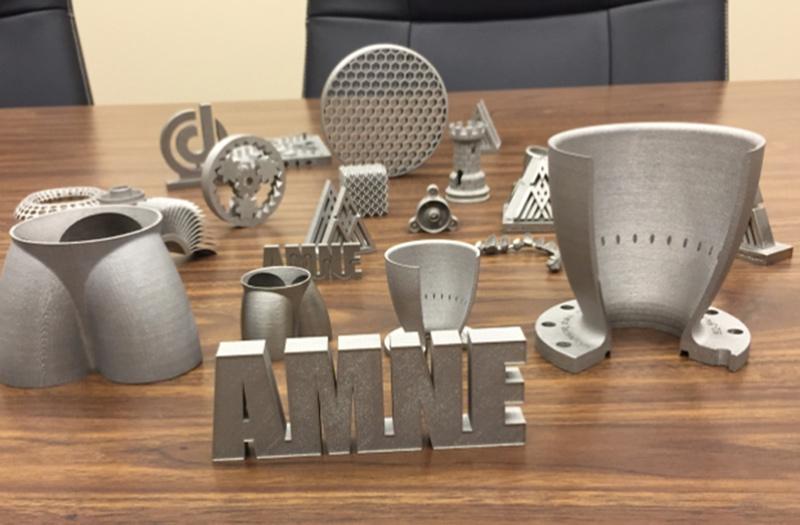 Một số sản phẩm in 3D từ vật liệu kim loại. Ảnh: 3DHubs