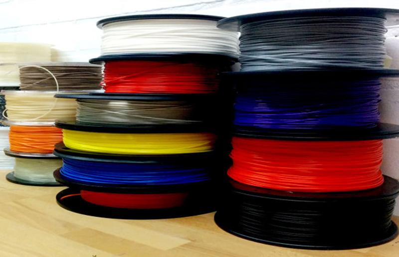 Nhựa PLA dễ in nên thường được sử dụng cho các loại máy in 3D giá rẻ.