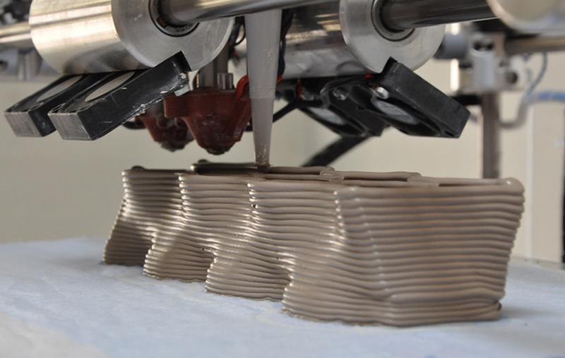 In 3D từ vật liệu gốm sứ. Ảnh: Replikat3d