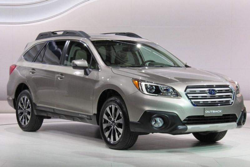 3. Subaru Outback 2017.