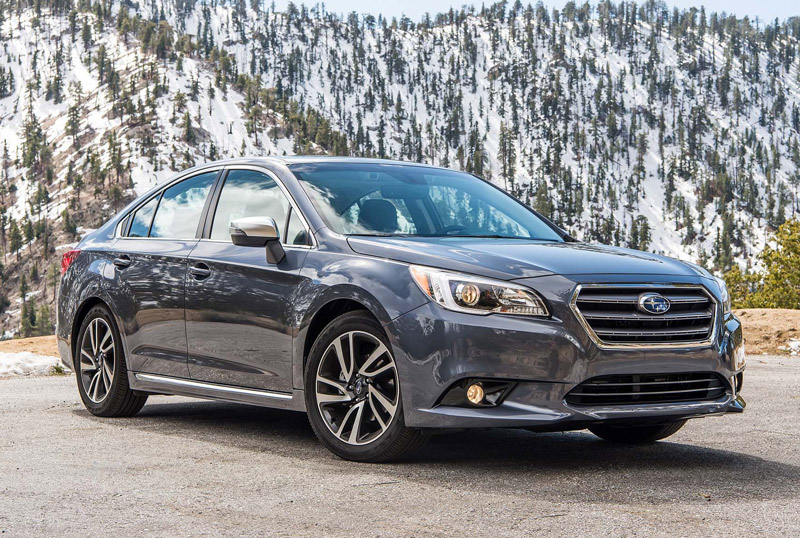 6. Subaru Legacy 2017.