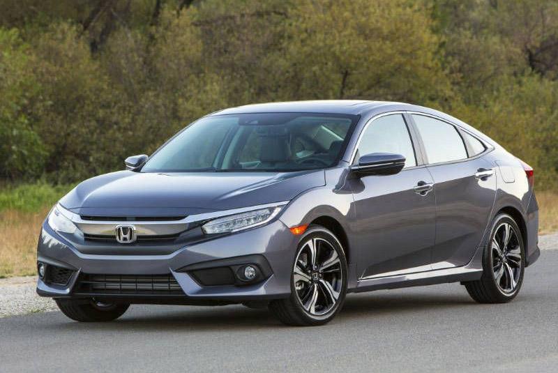 7. Honda Civic 2017.